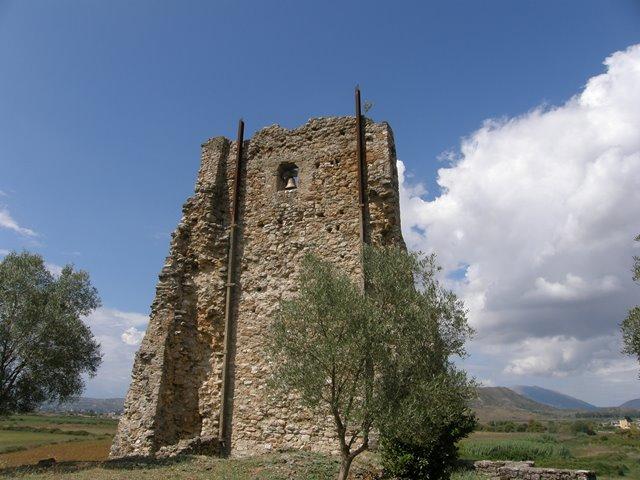 Zvonik, tj njegovi ostaci